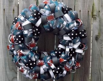 NFL Football Wreath Philadlphia Eagles or your favorite Team