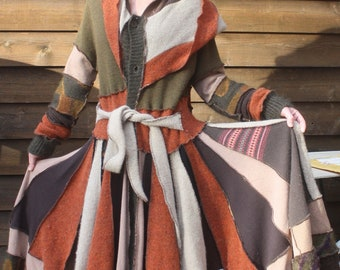 Upcycled Elf Coat