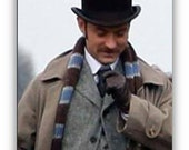 Dr. Watson Scarf, Sherlock Holmes 2, The Game of Shadows with Jude Law