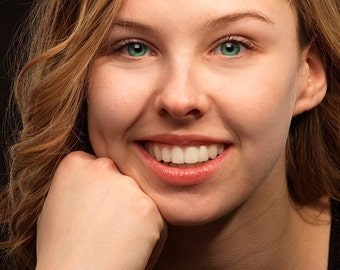 Portrait retouching actions - eyes and teeth - Photoshop CS6 and CC.
