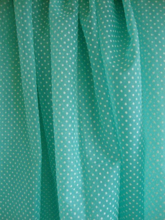 Custom Order For Mimi 50s Dotted Swiss Fabric By Cutebrightfun