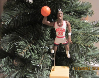 Michael Jordan Chicago Bulls SEE DESCRIPTION basketball Christmas sports ornament many to choose from.