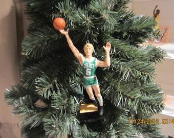 Bill Walton Boston UCLA Bruins or Boston Celtics custom basketball christmas sports ornament