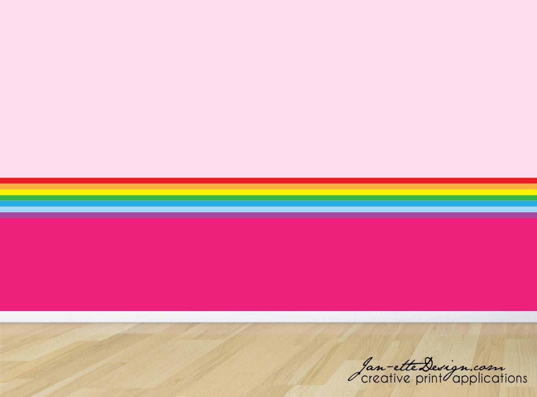 Rainbow wallpaper border cool hd wallpapers for Wallpaper trim