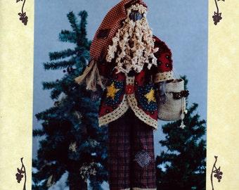 Santa Pattern: Pere Noel / 24 inch Folkart Santa - Fruitfull Hands - Susan M Backlund - French Santa Pattern - Father Christmas Pattern