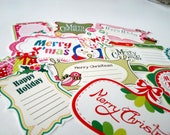 Christmas, Christmas label stickers