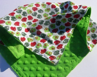 Cozy Mittens Minky Security Blanket