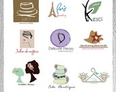 Custom Business Logo and Watermark OOAK Design
