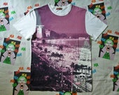 Paul smith jeans photoprint rare t-shirt indie rock