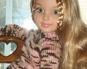 Pink Camoflage Pullover for 18in BFC Doll