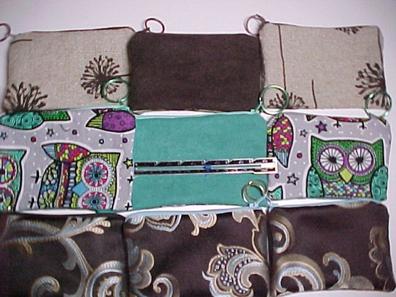 "Purse : My  "" ADD - A - POCKET ""  Zippered Pockets with Ring for Crossbody Bags and Purses"