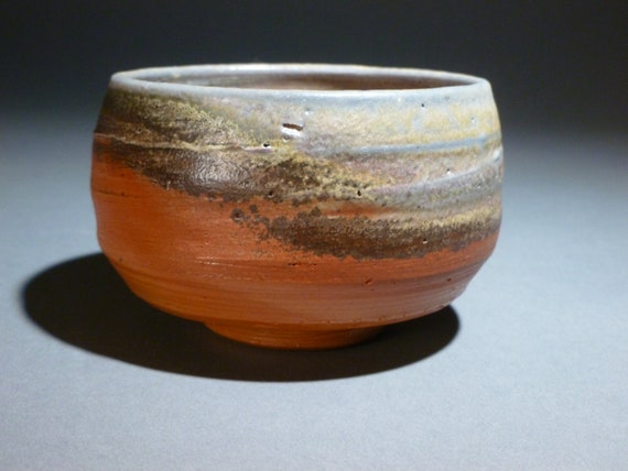 "Wood Fired (Anagama Kiln) ""Japanese Style"" Tea Bowl"