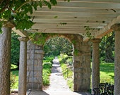 Arbor Picture at Maymont Park in Richmond Va, Landscape Photography, Frame Available