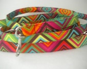 SALE-Fiesta Fabric Dog Leash - ready to ship