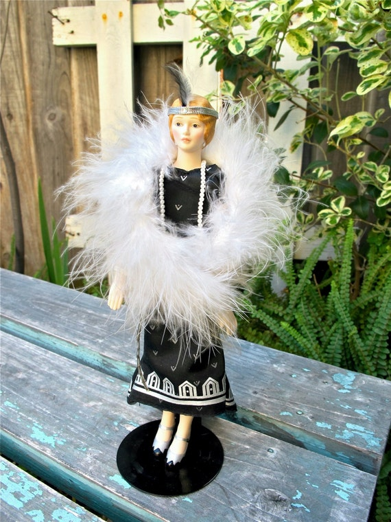 Vintage Porcelain Doll Avon Doll Roaring 20s By