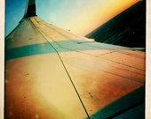 Boeing 757 Airplane Wing with Winglet, Airline Decor, Aviation, 10x10 Photograph, Aircraft, Airplane Interior, Airport