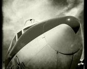 """Vintage World War II Airplane 3, Aviation Photo, 10""""x10"""" Photograph, Vintage Airplane, Vintage Aircraft, Airplane Decor"""