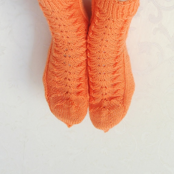 Knitting Pattern For Cashmere Socks : Hand Knitted Cashmere and Australian Wool Socks for by ...