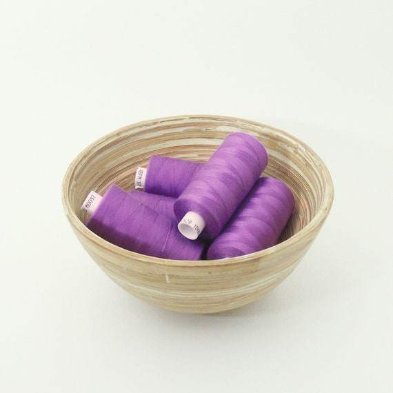Mid purple sewing thread. Polyester. 1 reel. Colour M0092. Coats Moon thread