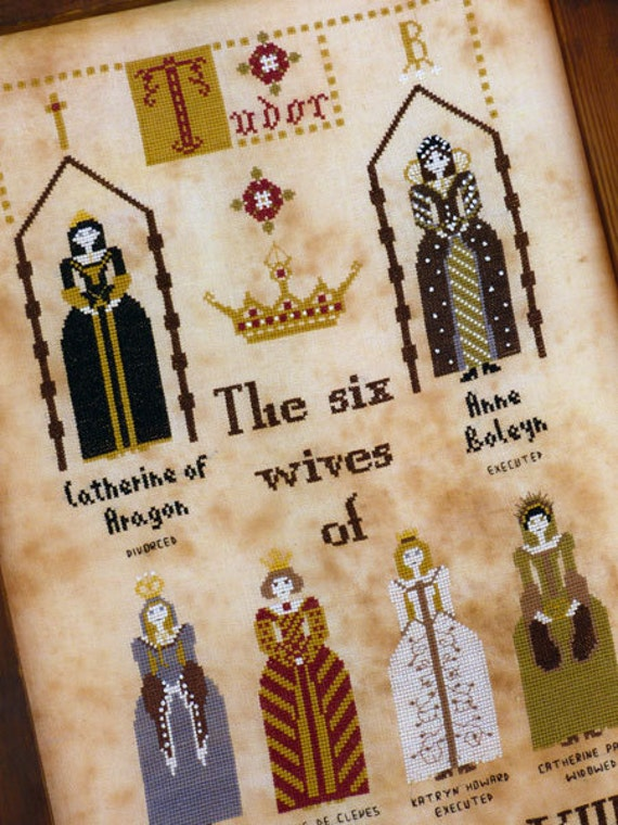 The Six wives of Henry VIII -E pattern-
