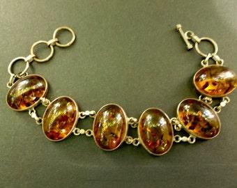 Amber Bracelet from India.