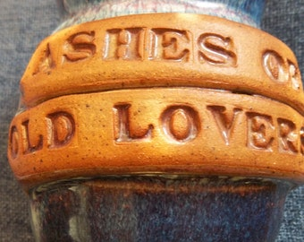 Ashes of Old Lovers Crock