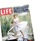 Complete May 6, 1957 Life Magazine - Featuring Sophia Loren Cover, 1950s Pop Culture, Mad Men Advertisements