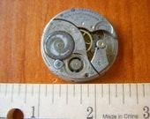 Elgin watch 1925 steampunk sturdy antique non-working pocket