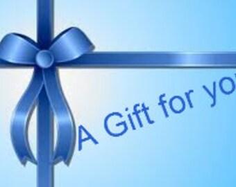 Gift Certificate  20 dollar