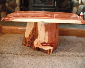 Red Cedar Coffee Table