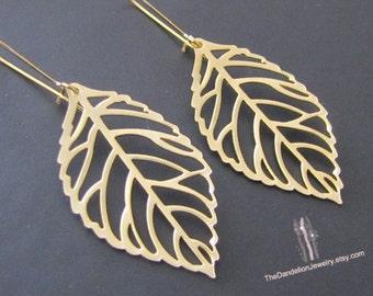 SALE 10% OFF: Leaf Earrings Dangle Earrings Drop Earrings Jewelry Gift