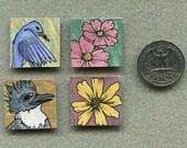 Hand-painted Inchies Set OOAK
