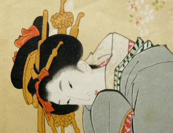 erotic art japanese Antique