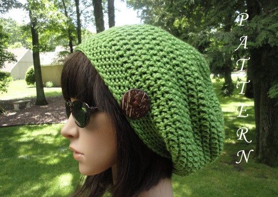 Free Crochet Pattern Mens Slouch Hat Dancox For