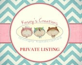 PRIVATE LISTING FOR Rachael