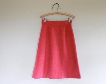 1960s Aline Skirt in Pink/tailor made