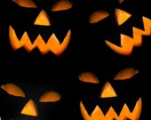 """Halloween Photography Background, Photo Backdrop """"Softeez"""" Wrinkle Free Material-Not Vinyl SFTHD30"""