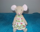 Tilda fruit garden fabric mouse . Can be personalised.