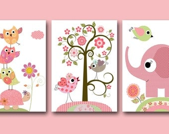 Popular items for baby girl nursery on Etsy