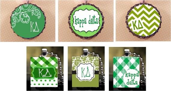 Kappa Delta pendant necklace