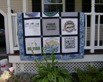 Custom Made Memory T-shirt Quilts,  Unique Gift OOAK