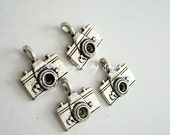 Lot of 4 Large Camera Charms
