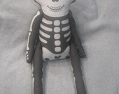 LARGE Skeleton Stuffed Toy with Movable Legs and Arms
