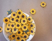 Sunflower mulberry paper.