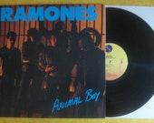 The Ramones: Animal Boy Punk Rock LP Record