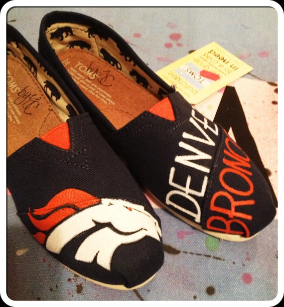 I love these Denver Broncos Women's Shoes