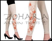 Stemps print leggings tights (C100-WO)- Free shipping!
