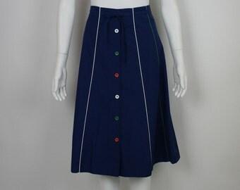 Vintage 1980's Preppy Skirt