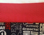 Made to Order Pillowcases for User: democrat