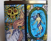 Flask - Day of the Dead Tarot Cards